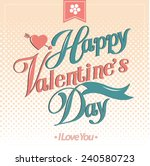 happy valentines day cards    Shutterstock .eps vector #240580723