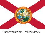 state of florida flag | Shutterstock .eps vector #240583999