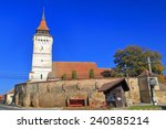 Saxon Church With Fortified...