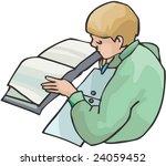 schoolboy | Shutterstock .eps vector #24059452