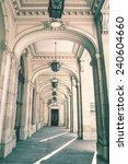 Vintage Castle Corridor