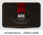 casino card design | Shutterstock .eps vector #240611668