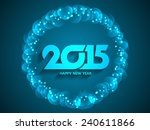 blue color glittering...   Shutterstock .eps vector #240611866