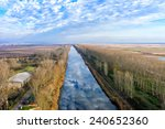Aerial View Of Loudias River I...