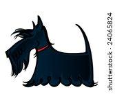 animal,beard,black,breed,collar,dog,hair,hound,long,pet,red,scotland,scottie,vector,wool
