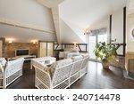 modern living room interior    Shutterstock . vector #240714478