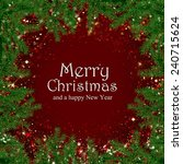 christmas background  | Shutterstock . vector #240715624