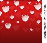 valentine's day  | Shutterstock . vector #240715786