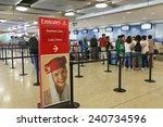 geneva   sep 16  emirates check ... | Shutterstock . vector #240734596