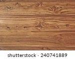 teak wood plank with unique... | Shutterstock . vector #240741889