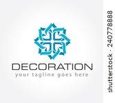 decoration logo   interior... | Shutterstock .eps vector #240778888