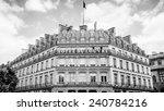 paris  france   jun 17  2014 ...   Shutterstock . vector #240784216