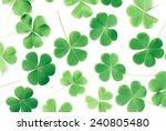 Bear Clover Leaf Green Of A St. ...