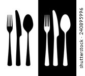 cutlery  vector illustration | Shutterstock .eps vector #240895996