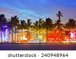 miami beach  florida  usa june... | Shutterstock . vector #240948964