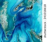 amazing marbled texture.... | Shutterstock . vector #241018618