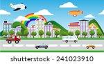city   Shutterstock . vector #241023910