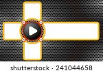 four frames for any text and... | Shutterstock .eps vector #241044658