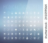 70 medical icons for web ...   Shutterstock .eps vector #241059064