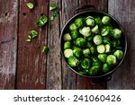 Fresh Brussel Sprouts Over...