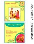 vector illustration of indian... | Shutterstock .eps vector #241063720