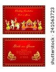 vector illustration of indian... | Shutterstock .eps vector #241063723