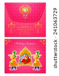 vector illustration of indian... | Shutterstock .eps vector #241063729