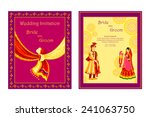 vector illustration of indian... | Shutterstock .eps vector #241063750