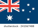 flag of australia | Shutterstock .eps vector #241067488