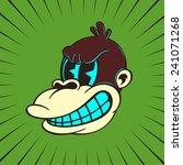 vintage toons  retro cartoon... | Shutterstock .eps vector #241071268