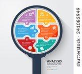 business data analysis... | Shutterstock .eps vector #241083949