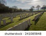 Military Grave Yard In France ...