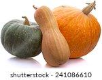 Three Different Pumpkins...
