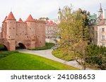 warsaw barbican  medieval... | Shutterstock . vector #241088653