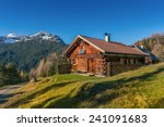 Old Wooden Hut Cabin In...