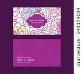 vector colorful line art... | Shutterstock .eps vector #241154014