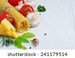 ingredients italian cuisine.... | Shutterstock . vector #241179514
