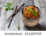spicy salad asian style with... | Shutterstock . vector #241203769