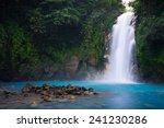Rio Celeste Waterfall In...