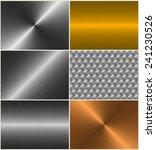 aluminum  gold  brass  bronze... | Shutterstock . vector #241230526