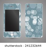 style phone case. print with... | Shutterstock .eps vector #241232644