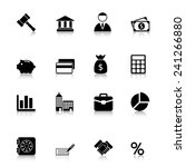 business icons set with...   Shutterstock . vector #241266880