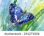 Butterfly. The Purple Emperor ...
