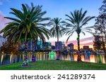 Orlando  Florida  Usa Downtown...