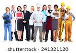 group of workers people.... | Shutterstock . vector #241321120