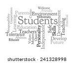 school vision on white... | Shutterstock . vector #241328998