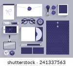 stationery template  corporate... | Shutterstock .eps vector #241337563