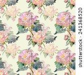 summer flower seamless pattern   Shutterstock . vector #241368520
