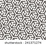 vector seamless pattern. arabic ... | Shutterstock .eps vector #241371274
