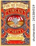 Vector Circus Carnival Show...